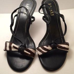 Raulph Lauren shoes , new , upper leather, Sz 71/2
